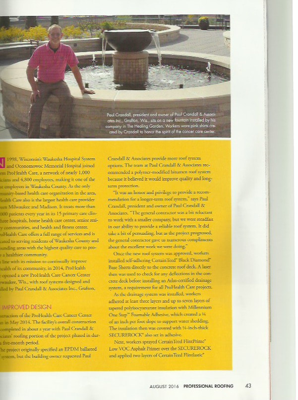 Professional Roofing Magazine Page 1