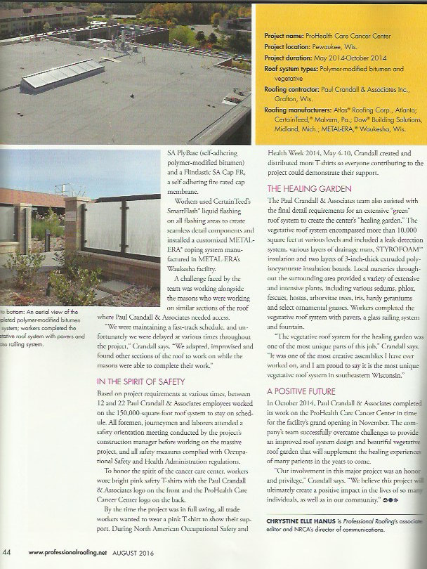 Professional Roofing Magazine Page 2
